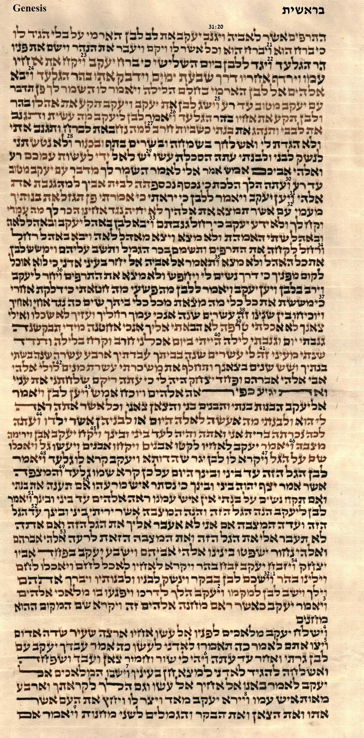 Genesis 31.20 - 32.9