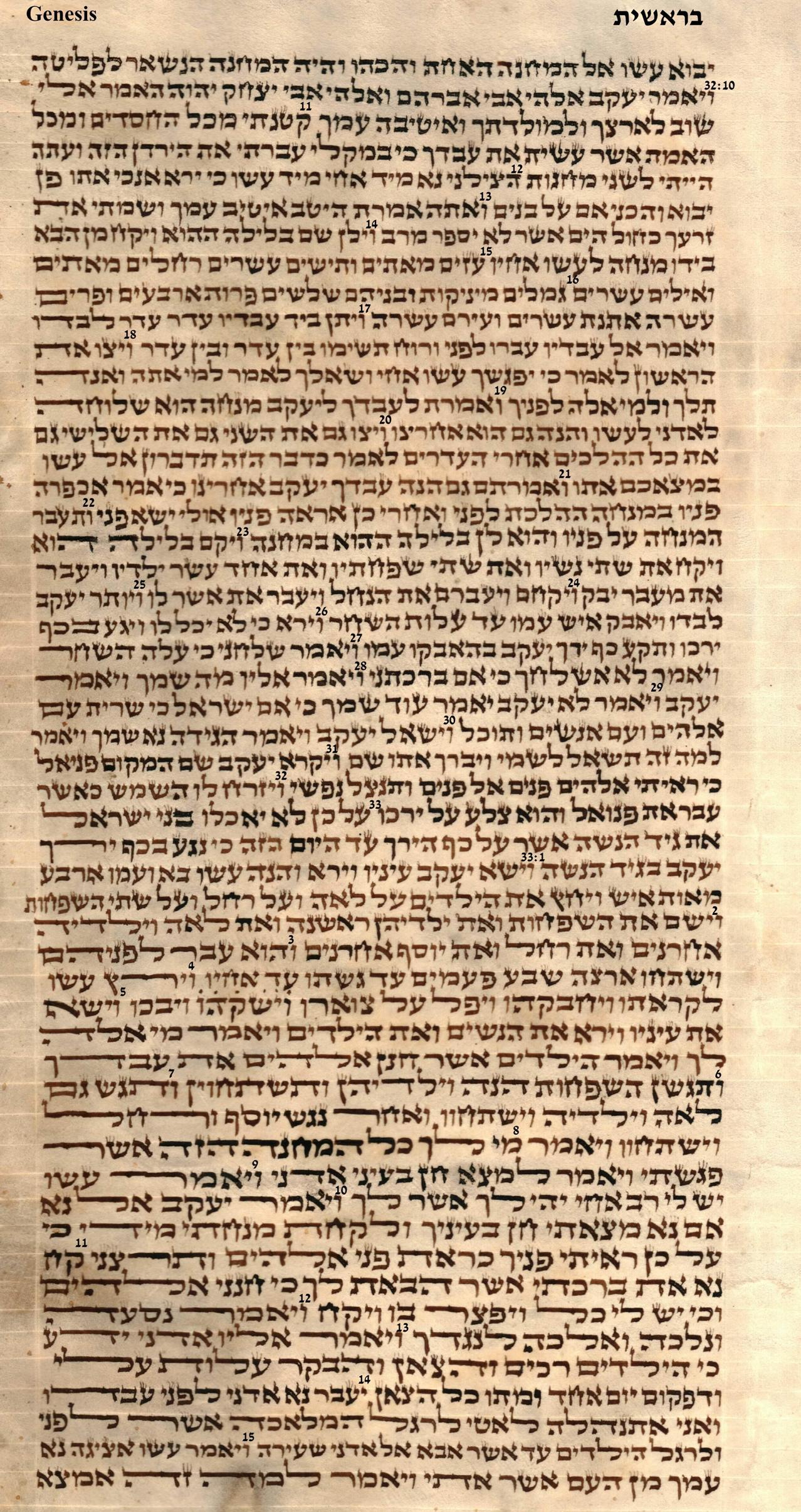Genesis 32.10 - 33.15