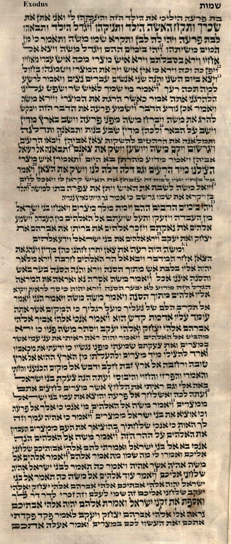 Exodus 2.10 - 3.17